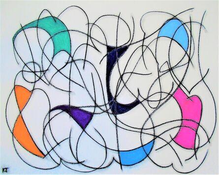 Kevin Jones, 'Seven Colour Abstract VIII', 2021
