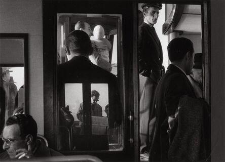 Gianni Berengo Gardin, 'On a Vaporetto, Venice', 1960