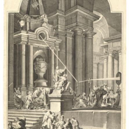 Giuseppe Valeriani, 'To the memory of Sir Isaac Newton'