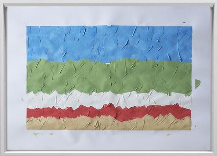 Rodrigo González Castellanos, 'Desgaste de la psicología del color, Armonía', 2020