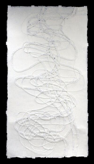 Monika Grzymala, '#7 Meander (from the series making paper)', 2014
