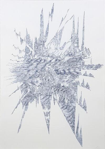 Lyndi Sales, 'Erosion drawing 3', 2017