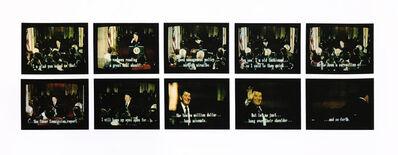 Robert Heinecken, 'Mr. President... Mr. President... C, Set #1', 1987