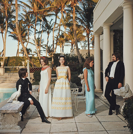 Slim Aarons, 'Palm Beach Debutantes', 1968