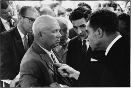 Elliott Erwitt, 'Moscow (Nikita Khrushchev and Richard Nixon)', 1959