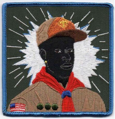 Kerry James Marshall, 'Boy-Scout', 2017