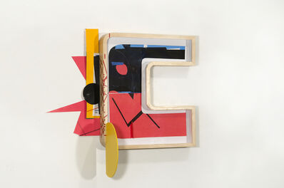 Rafael Domenech, 'Untitled (Rojonegroorange)', 2017