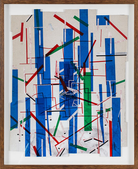 Marcin Dudek, 'Tricolores', 2013