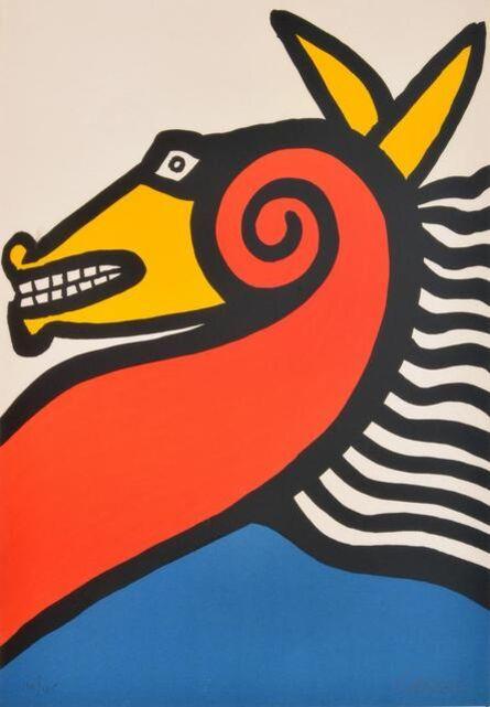 Alexander Calder, 'Seahorse', 1975