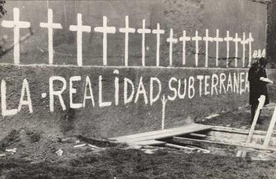 Luis Pazos, 'Aspectos de La realidad subterránea', 1972