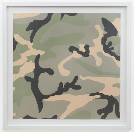Andy Warhol, 'Camouflage TP Grey', 1987