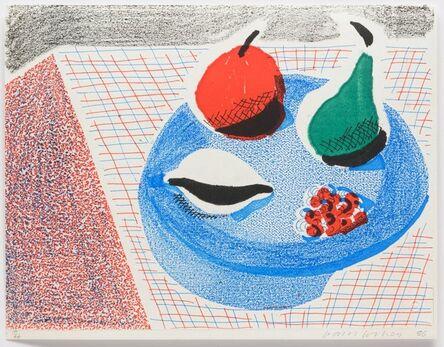 David Hockney, 'The Round Plate, April 1986', 1986