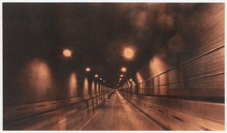 Adam McEwen, 'Battery Tunnel (Orange)', 2016