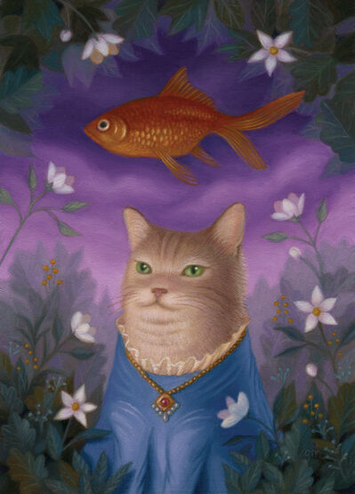 Gina Matarazzo, 'Amelia, Amonst the Flowers in the Fish Glen', 2018