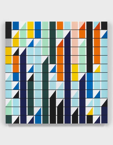 Sarah Morris, 'The Building as a Pretext [Sound Graph]', 2019