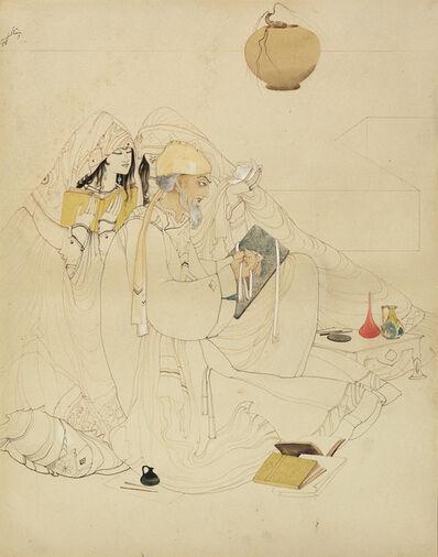 Abdur Rahman Chughtai, 'Untitled'