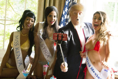 Alison Jackson, 'Trump  Selfie with  Miss Universe ', 2016