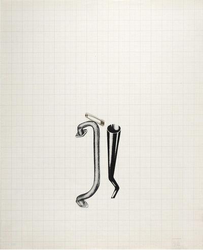 Jim Dine, 'Tool Box VII (Graph Paper)', 1966