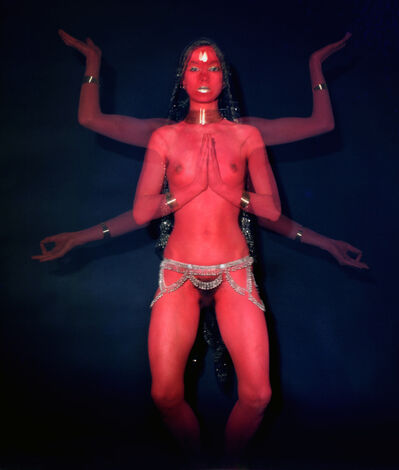 Penny Slinger, 'Penny as Red Dakini', 1977
