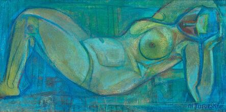Mikhail Turovsky, 'Nude in Blue', ca. 2000