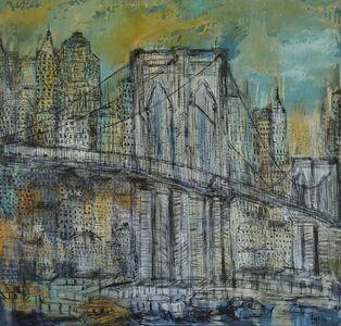 Layla Fanucci, 'Brooklyn Bridge Opus 18 ', 2016
