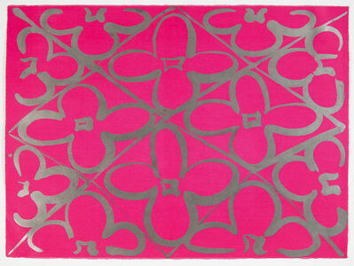Judy Ledgerwood, 'Chromatic Patterns After the Graham Foundation - Pink', 2014
