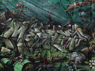 Liu Bolin, 'Hiding in New York No. 10 - 5 Pointz', 2013