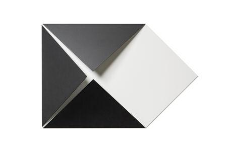 Sébastien de Ganay, 'White & Black Folded Flat 02', 2020