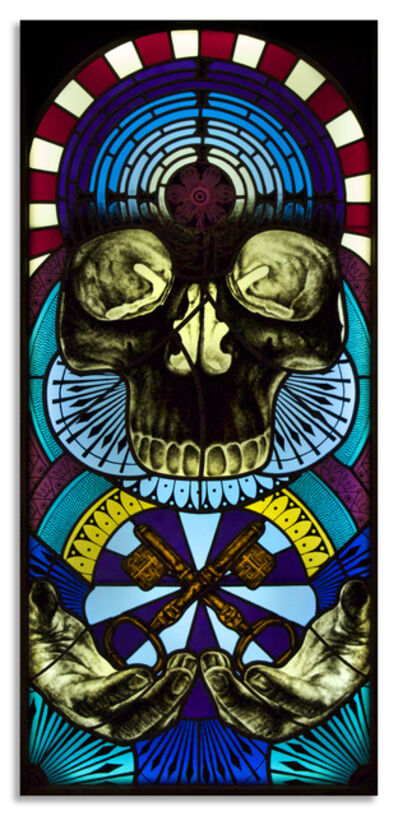 Beau Stanton, 'Skull Labyrinth', 2014