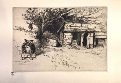 Francis Seymour Haden, 'The Cabin', 1877