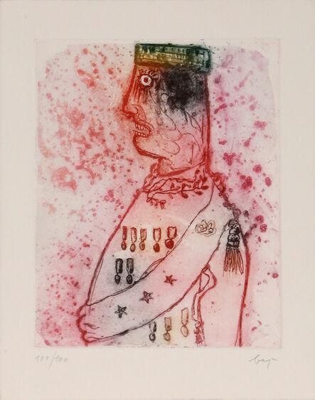 Enrico Baj, 'Ami Chemin from Dames et Genereaux', 1965
