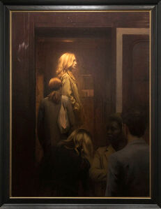 Nick Alm, 'Entering The Train', 2020