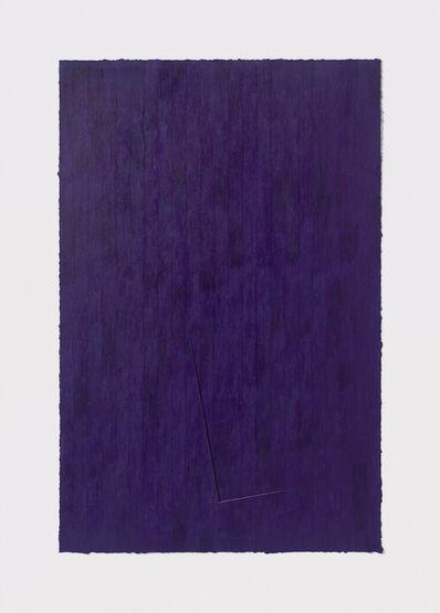 Stephen Antonakos, 'Untitled Cut, JY#6', 1977