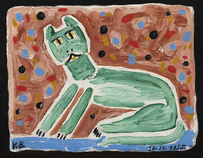 Victor Brauner, 'Le chat', 1955