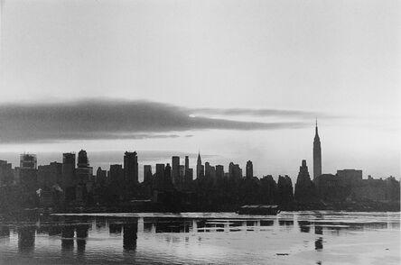 George Tice, 'Sunrise, New York', 1971