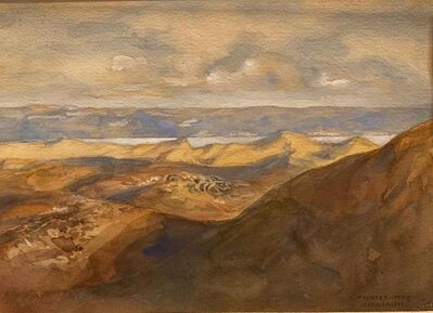 Anna Richter May, 'Judaean Desert and The Dead Sea', Early 20th century