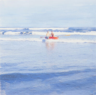 Isca Greenfield-Sanders, 'Red Boat', 2016