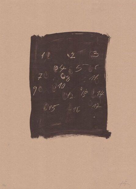 Antoni Tàpies, 'Llambrec material III', 1970-1980