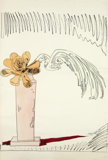 Andy Warhol, 'Flowers (Hand-Colored) (Feldman & Schellmann, Appendix, pg. 214)', 1974