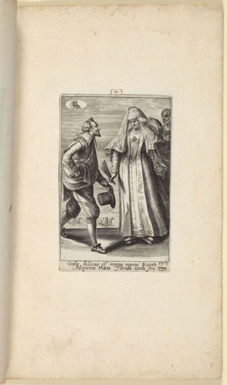 Crispijn de Passe II, 'The Twelve Months of the Year with Couples in Costumes From All Over the World'