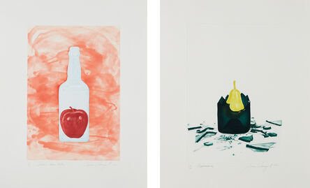 James Rosenquist, 'Blood in Warm Water; and Appearance, from The Glass Wishes', 1981