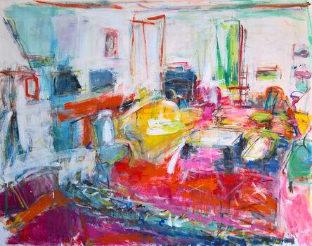 Brigitte Chombart de Lauwe, 'The drawing room II', 2017