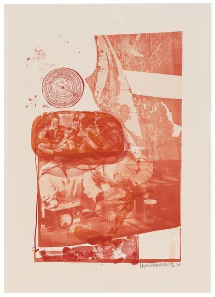 Robert Rauschenberg, 'Ape (Stoned Moon)', 1970