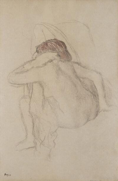 Edgar Degas, 'Femme s'essuyant', 1888-1892