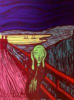 Andy Warhol, 'The Scream, Green (Sunday B. Morning)', 1970-2020