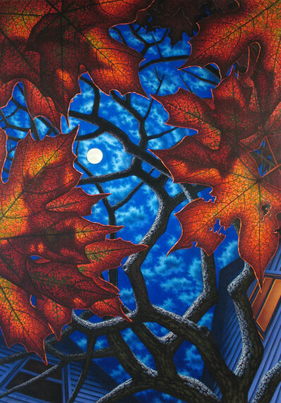 Leonard Koscianski, 'Moon Above'