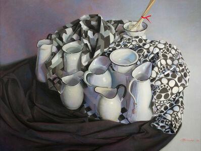 Janet Monafo, 'Still Life with Garlic', 2016