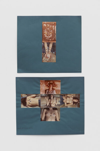 Rose English, 'Small Porcelain Pieces (Collage)', 1973