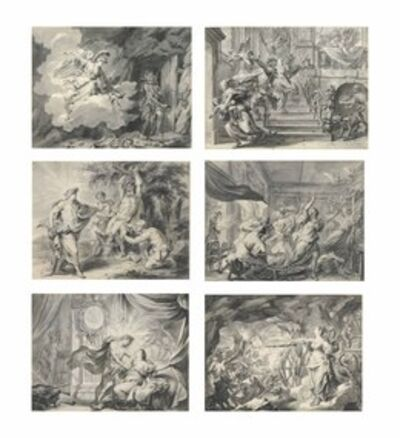 Godfried Maes, 'Eighteen illustrations for Ovid's Metamorphoses'