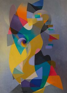 Stanton MacDonald-Wright, 'Enfance', 1955